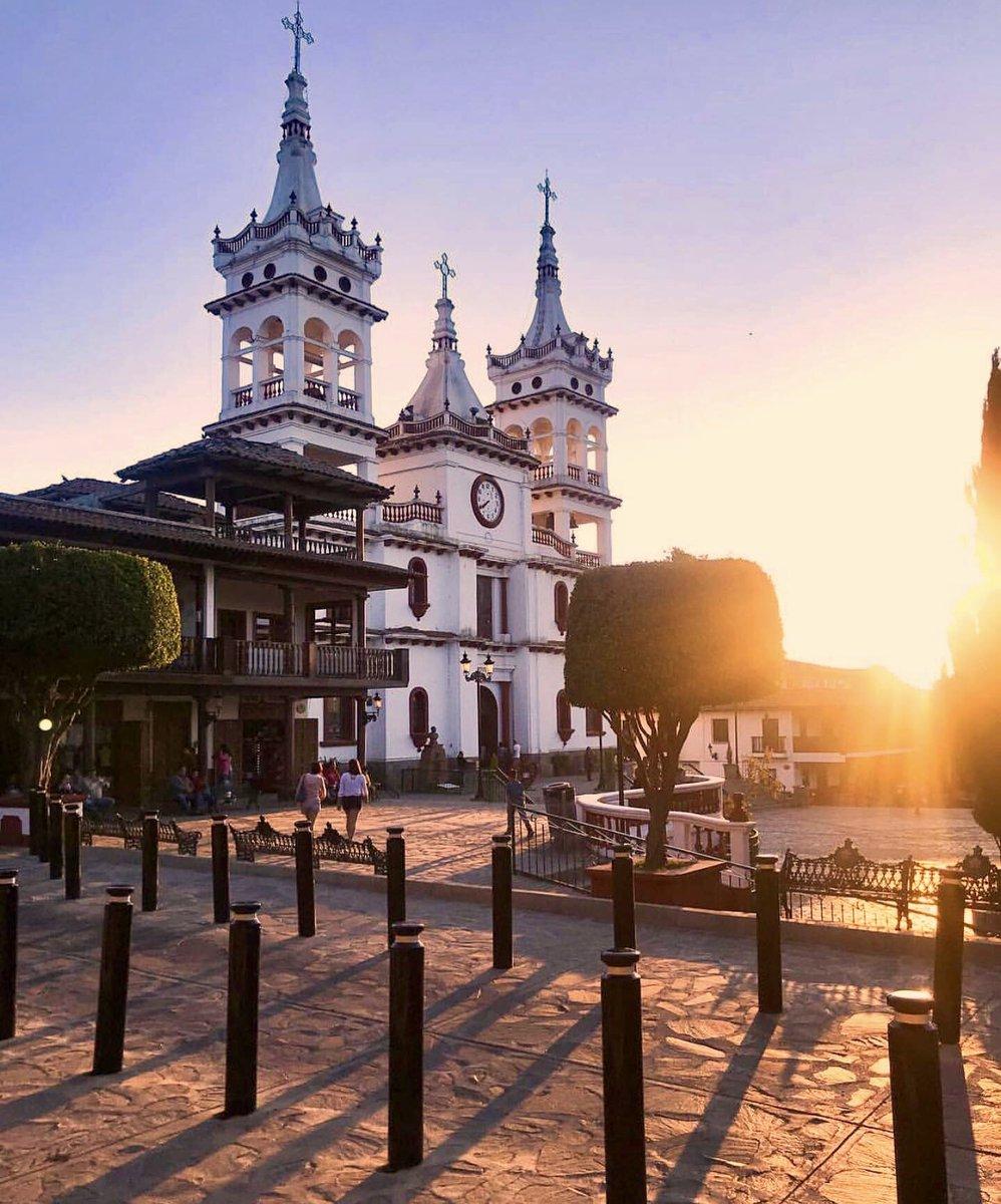 Parroquia de San Cristóbal en Mazamitla.